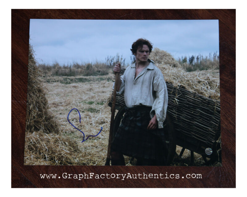 GFA Outlander Series Jamie * SAM HEUGHAN * Signed 11x14 Photo MH3 COA