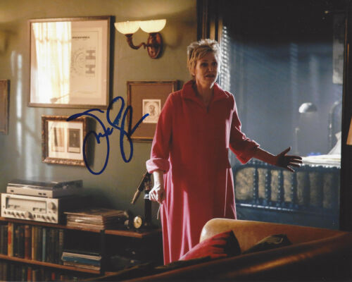 JANE LYNCH SIGNED AUTHENTIC CRIMINAL MINDS 8X10 PHOTO ACTRESS WRECK IT RALPH COA