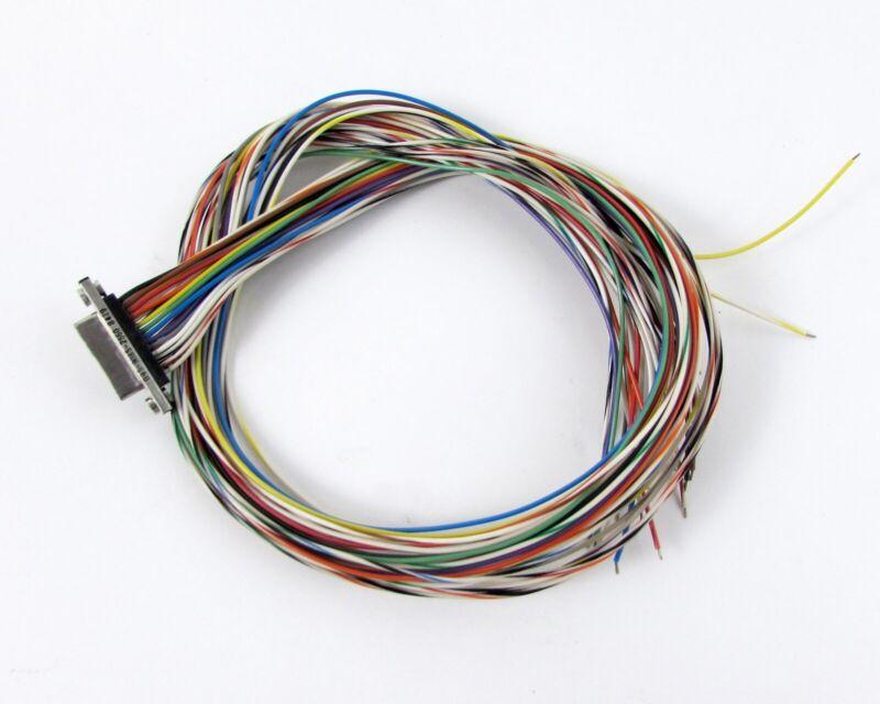 """Malco 095-9085-2560 D-Sub Connector 25 Position Cable Bundle 18"""""""