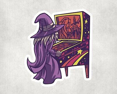 2 x  Pinball Wizard Gaming Scrapbook Scrapbooking Art Laptop Decals Stickers