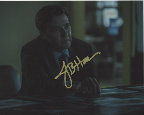 JASON BUTLER HARNER SIGNED AUTHENTIC 'OZARK' ROY PETTY 8X10 PHOTO C w/COA ACTOR