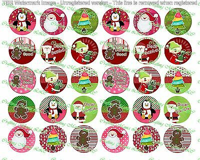 30 Precut 1  Christmas Images Set 1