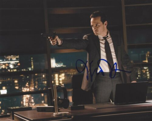 ACTOR ANDREW SCOTT SIGNED SHERLOCK 8X10 PHOTO B W/COA SPECTRE JAMES BOND MOVIE