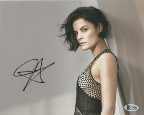JAIMIE ALEXANDER SEXY ACTRESS SIGNED 8X10 PHOTO THOR BLINDSPOT BECKETT COA BAS