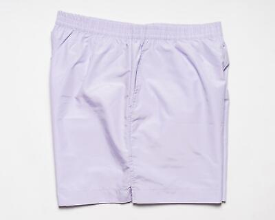 Brioni $ 400 Nwt Solid Lavendel Polyester Herren Badeanzug Badehose M - Solid Herren Badeanzug