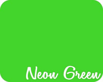 19 X 5 Yards - Stahls Neon Heat Transfer Vinyl Htv - Neon Green