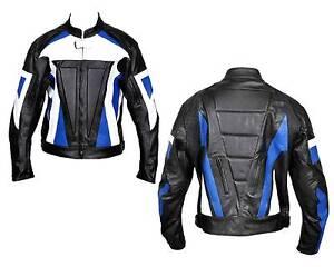 Motorcycle Biker Leather Fashion Armour Jacket Clayton Monash Area Preview