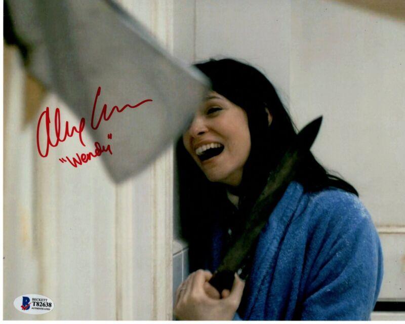 ALEX ESSOE signed 8x10 Photo DOCTOR SLEEP Wendy Torrance Horror Beckett BAS