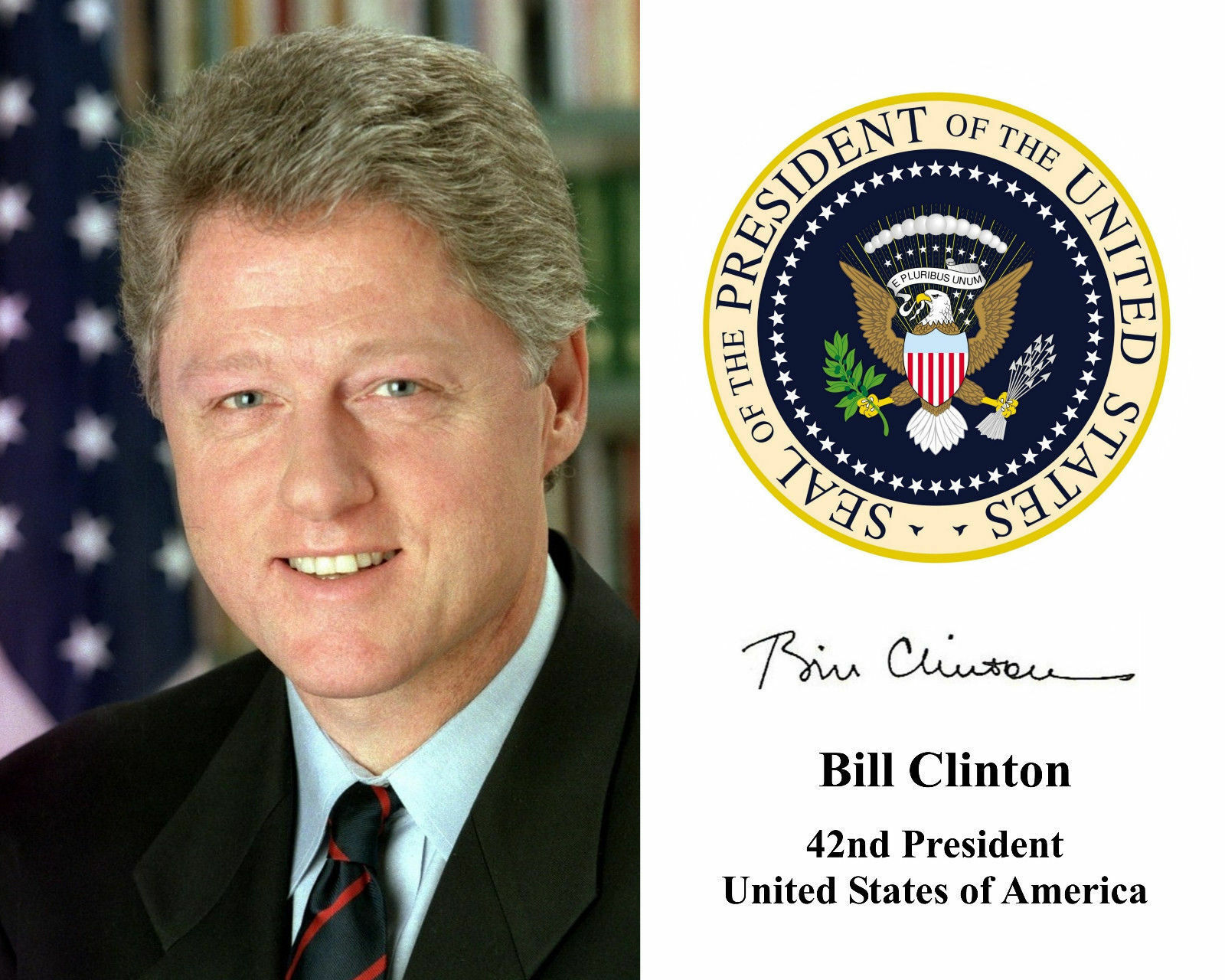 a biography of bill clinton the 42nd president of the united states of america William jefferson clinton, widely known as bill clinton, is an american politician and the husband of hillary clinton, who ran in 2016's presidential election against the current us president donald trump clinton is also a former president of the united states he served as the 42nd us.