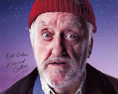 Bernard Cribbins - Wilfred Mott - Doctor Who - Signed Autograph REPRINT
