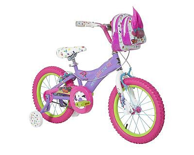 "TROLLS PURPLE 16"" Youth Kids Child Childrens Training Cycle Bicycle GIRLS BIKE"