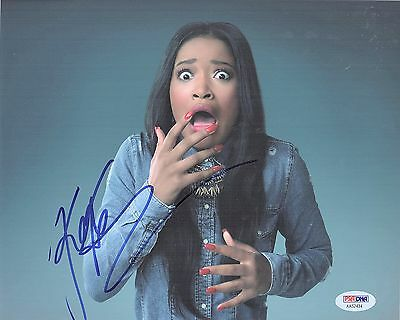Keke Palmer Signed Scream Queens 8X10 Photo  Hot Zayday Autograph  Psa Dna