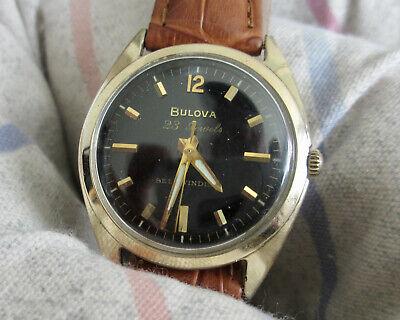 vintage bulova automatic mens watch