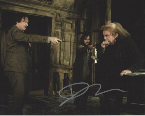 DAVID THEWLIS HAND SIGNED 'HARRY POTTER' REMUS LUPIN 8X10 PHOTO H w/COA PROOF