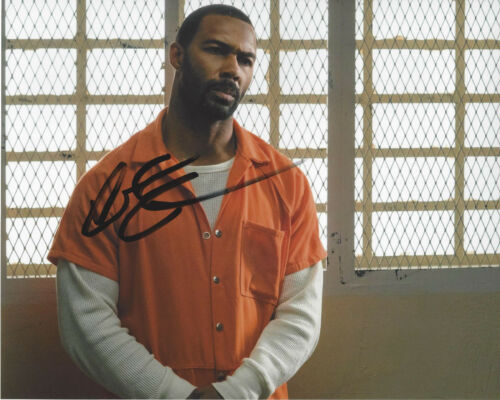 OMARI HARDWICK SIGNED AUTHENTIC 'POWER' GHOST 8X10 PHOTO w/COA ACTOR