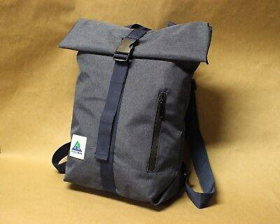 BuckleGear Backpack #1 - Zippered Roll Top Backpack - Fold Top Bag (1 Backpack)