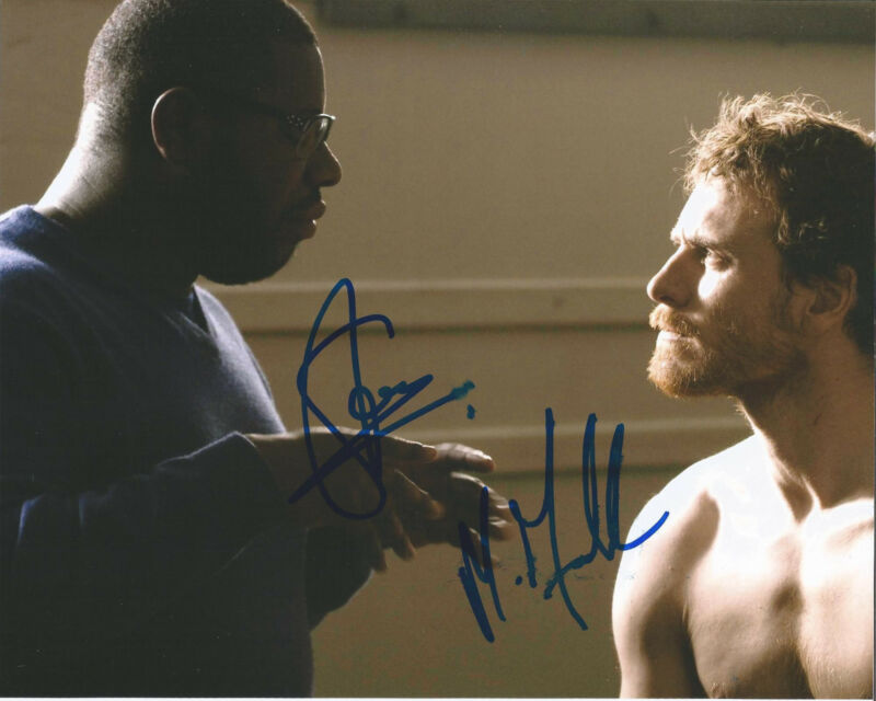 MICHAEL FASSBENDER STEVE MCQUEEN SIGNED 12 YEARS A SLAVE 8X10 PHOTO W/COA A