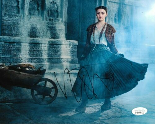 Maisie Williams Game of Thrones Autographed Signed 8x10 Photo JSA COA #10
