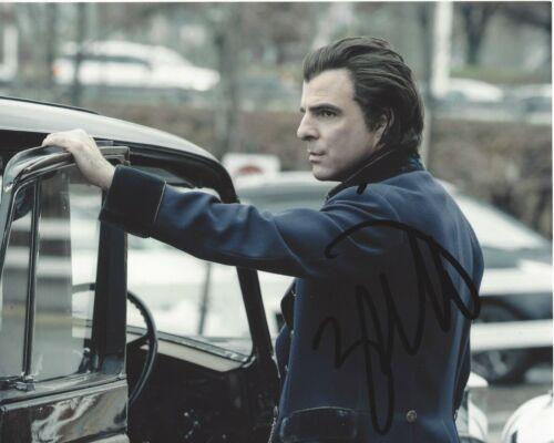 ACTOR ZACHARY QUINTO SIGNED 'NOS4A2' 8x10 TV SERIES PHOTO w/COA 2019 AMC