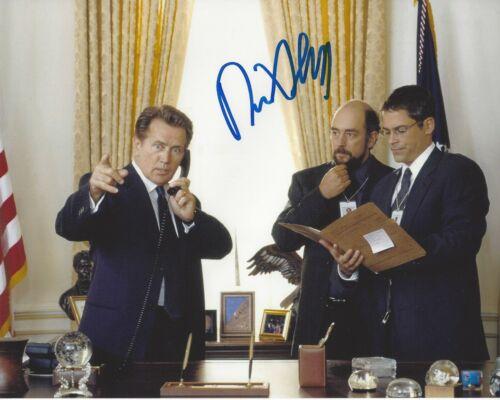 ACTOR RICHARD SCHIFF SIGNED THE WEST WING 8x10 PHOTO w/COA TOBY ZIEGLER CAST