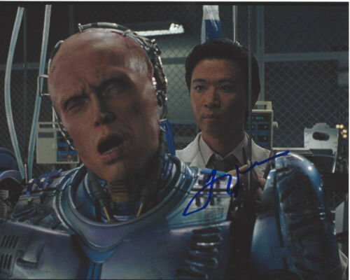 TZI MA SIGNED AUTHENTIC 'ROBOCOP 2' 8X10 PHOTO w/COA RUSH HOUR ACTOR PROOF