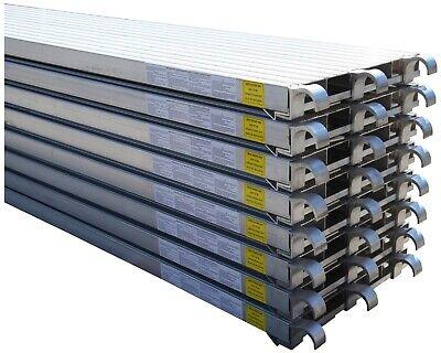 Cbm Scaffold 8 All Aluminum Walk Board Deck Platform 7 L X 19 W 75 Lbs Sq.ft