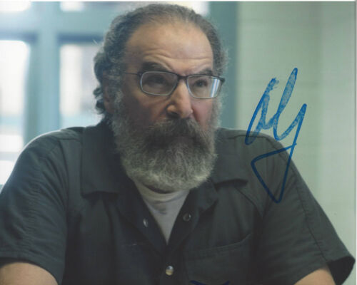 MANDY PATINKIN SIGNED 'HOMELAND' SAUL BERENSON 8X10 PHOTO D w/COA ACTOR PROOF