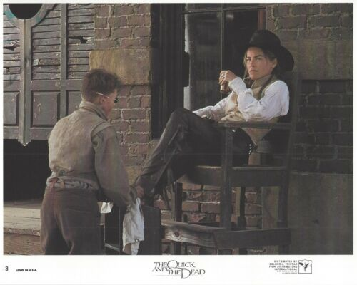 The Quick And The Dead Original 8x10 Lobby Card Poster Photo 1995 #3 Stone
