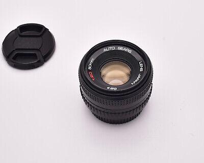 Sears 50mm f//2 Pentax PK Manual Focus Lens Good