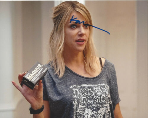 KAITLIN OLSON SIGNED IT'S ALWAYS SUNNY IN PHILADELPHIA 8x10 PHOTO G COA ACTRESS