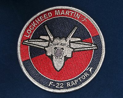 USAF Lockheed F-22 Raptor Patch Fighter Iraq Stealth Air Superiority Air Force F22 Raptor Fighter