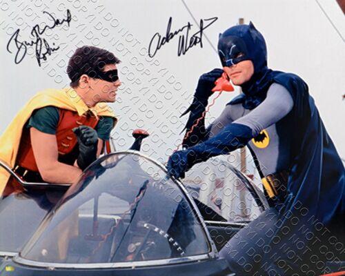 REPRINT 8x10 SIGNED AUTOGRAPHED PHOTO PICTURE ADAM WEST & BURT WARD BATMAN ROBIN