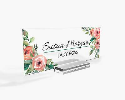 Personalized Teacher Gifts Desk Name Plate Teacher Name Sign Christmas Sign