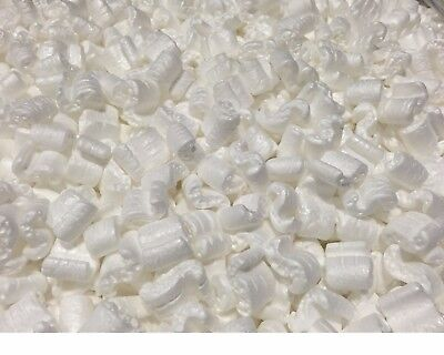 Packing Peanuts Shipping Anti Static Loose Fill Cushioning 3 Cubic Feet White