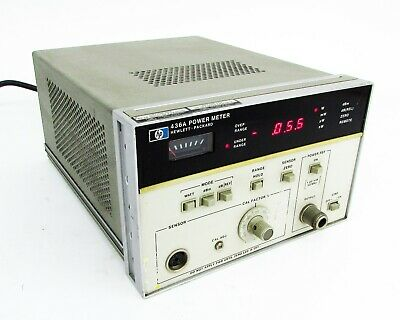 Hpagilent - 436a Power Meter 100 Khz To 110 Ghz Opt 002-022