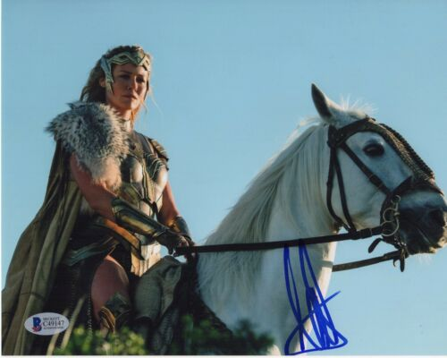 CONNIE NIELSEN SIGNED WONDER WOMAN 8X10 PHOTO! HIPPOLYTA AUTOGRAPH PSA BAS COA