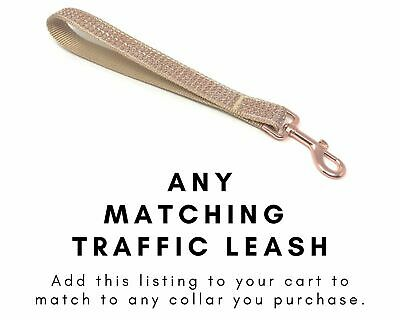 Matching Traffic Leash, Lead, Short Dog Lead, 1 Foot Leash, 2 Foot Leash