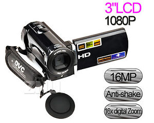 1080P FHD 16MP Camcorder Digital Video Camera 3.0
