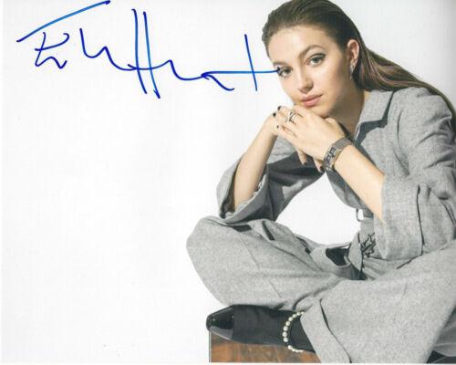ELLA HUNT SIGNED AUTHENTIC 'DICKINSON' 8x10 PHOTO w/COA SEXY ACTRESS MOVIE