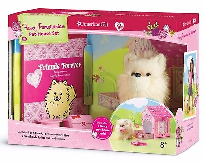 Купить American Girl - American Girl Pomeranian Pet House Set