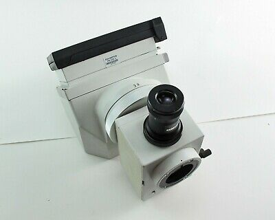 Olympus Microscope Camera And Viewing Assembly Pm-dlf Pm-pb20