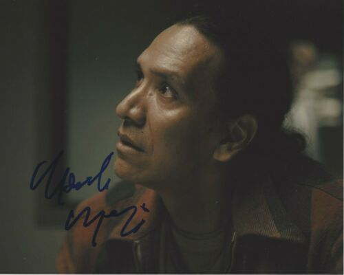 MICHAEL GREYEYES SIGNED 8x10 PHOTO D w/COA FEAR THE WALKING DEAD TRUE DETECTIVE