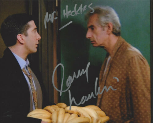 LARRY HANKIN SIGNED 'FRIENDS' MR. HECKLES 8x10 SHOW PHOTO B w/COA ACTOR PROOF