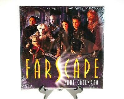 Farscape 2001 Official Calendar with Pullout Poster NEW SEALED