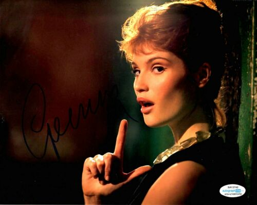 Gemma Arterton Sexy Bond Autographed Signed 8x10 Photo ACOA #3
