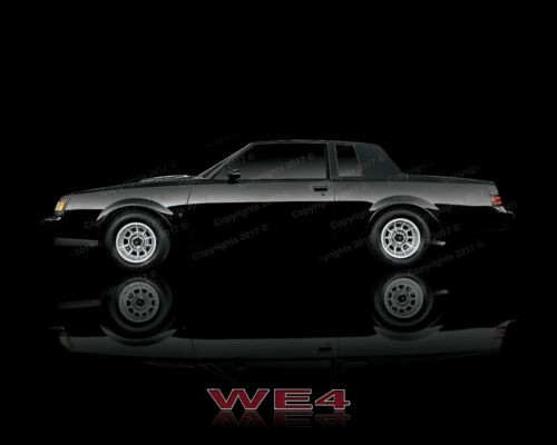 Buick Grand National   WE4   GNX Poster