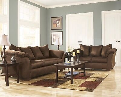 Ashley Furniture Darcy Cafe Sofa and Loveseat Living Room Set