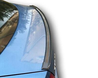 Carbon lackiert Heckspoiler Lippe trunk aileron levre spoiler für Skoda Fabia