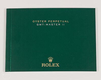 """2015 Japanese Rolex """"Oyster Perpetual GMT-Master II"""" Booklet Ref. 15.11.3000"""