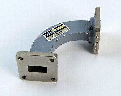 Demornay Bonardi F-234 Waveguide 90 Bend - Wr-62 12.4-18 Ghz